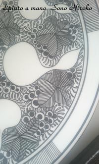 ひょうたんの大皿☆ - Italian styleの磁器絵付け
