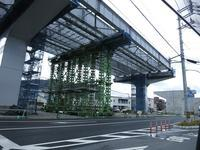 海田東インターチェンジ付近、バイパス高架の橋げた設置はじまる - 安芸区スタイルブログ-安芸区+海田町・坂町・熊野町-