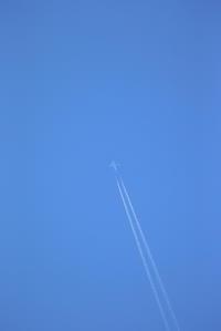 高く飛ぶ、低く飛ぶ、飛行機 - 平凡な日々の中で