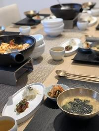 トックッ(韓国の牛スープ)クラススタートです - 今日も食べようキムチっ子クラブ (料理研究家 結城奈佳の韓国料理教室)