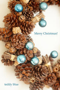 Happy Holidays! ハッピーホリデーズ! - teddy blue