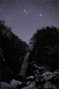 ウィルタネン彗星 と 秋保大滝 - 遥かなる月光の旅