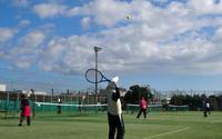 師走のシニアテニス - 東金、折々の風景