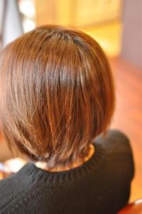 「大人ブラウンな白髪染め」 - 観音寺市 美容室 accha