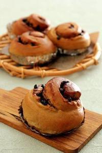 コーヒーとチョコのシナモンロール - Takacoco Kitchen