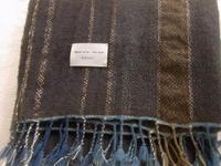 冬の手織りストールTOMOSHIKIさんへ - 手作り工房 こるり