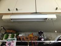 調理台照明をLED化 - 青いそらの下で・・・