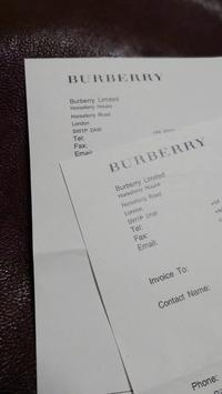 from London BURBERRY - マイニチが宝箱 - lcsyoko