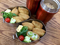 今週の弁当と、庭の柚子 - マイニチ★コバッケン
