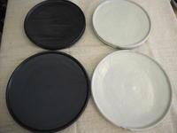 八木橋昇さんの玉縁皿7寸と8寸 - うつわ楓店主たより