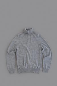 HARRISSWool Turtleneck (Grey) - un.regard.moderne