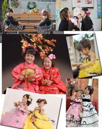 姉妹で七五三 - 中山写真館のブログです。