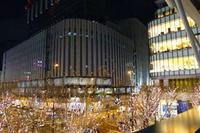 大阪イルミネーション2 - Blue Planet Cafe  青い地球を散歩する