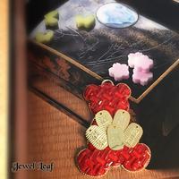 縁起のいいクマちゃん✨✨🧸 - 神戸北区西鈴蘭台グルーデコサロン(JGA認定校)★Jewel  Leaf★