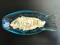 バジルor パクチーのサラダチキン - ぼっちオバサン食堂