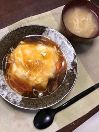 天津飯もどき - 庶民のショボい食卓