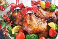 ■おもてなしケータリング料理 【初挑戦!!クリスマスチキンが上手く焼けました~♪】 - 「料理と趣味の部屋」