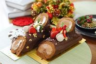 今年は「ブッシュ・ド・ノエル」で大人クリスマス☆ - choco cafe*パン教室