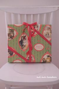 ◆ラッピング*忘れてた!娘へのクリスマスプレゼント。。 - フランス雑貨とデコパージュ&ギフトラッピング教室 『meli-melo鎌倉』