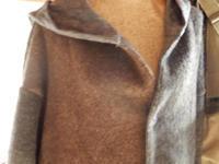 takuroh shirafuji Big Hoodie(Wool) - SHIRAFUJI-BLOG