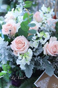 12月 Living flowerクラス「冬の庭〜winter garden」 - Le vase*  diary 横浜元町の花教室