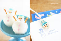 Love you, Mr. Snowman!  ♡ミスタースノーマン! - teddy blue