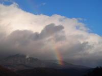真冬の虹 - 八ヶ岳 革 ときどき くるみ
