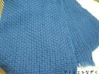 spot weave、アイボリーカシミヤ - アトリエひなぎく 手織り日記