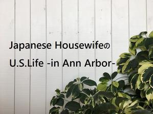 *・★.5年間ありがとうございました.★・* - Japanese HousewifeのU.S.Life♪ -in Ann Arbor-