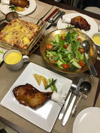 ローストチキン - 庶民のショボい食卓