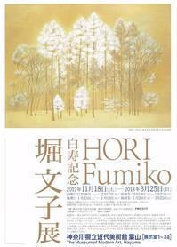 堀文子展 - AMFC : Art Museum Flyer Collection