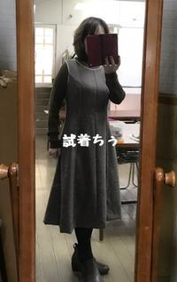 ジャンスカ仮縫いの試着と衝動的amiami気分 - 新生・gogoワテは行く!