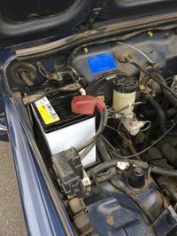 ジムニーのバッテリー交換 - 今日もどこかでスナフキン