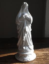 ポーセリンの聖母像 高31cm   / F882 - Glicinia 古道具店
