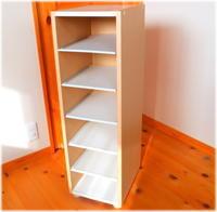 本棚へ改造 - グラス工房 Grendora  -制作の足跡と日常-