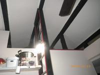 古民家DIY:屋根裏遊び場:冬断熱:ロケットストーブ - 古民家再生中!みずほフォーラム:不動産情報をお届けします。