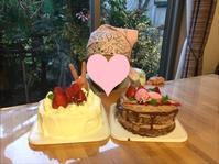クリスマスケーキレッスン - 調布の小さな手作りお菓子教室 アトリエタルトタタン
