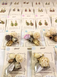 木の実のアクセサリーを納品させていただきました - driedflower arrangement ✦︎ botanical accessory ✦︎ yukonanai ✦︎ gland*