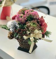 クリスマスシーズン真っ只中。 - きらら・花だより ベイエリア・海浜幕張の花屋