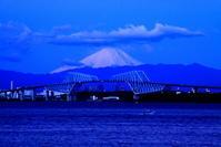 30年12月の富士(11)東京ゲートブリッジの富士 - 富士への散歩道 ~撮影記~