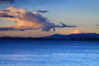 30年12月の富士(12)東京ゲートブリッジの朝の富士 - 富士への散歩道 ~撮影記~