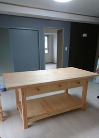 テーブル、ワークベンチ等納品 - KAKI CABINETMAKER