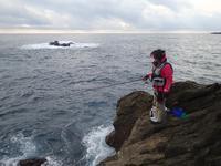 串本大島の磯釣り - 第3の釣り