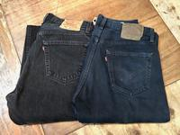 USED BLACK Levi's 501 MADE IN U.S.A - ショウザンビル mecca BLOG!!