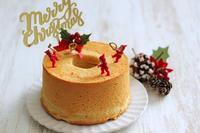 クリスマスケーキはバニラシフォン - Takacoco Kitchen