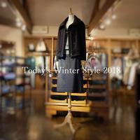 """Today's Winter Style 2018...12/24mon"" - SHOP ◆ The Spiralという館~カフェとインポート雑貨のある次世代型セレクトショップ~"