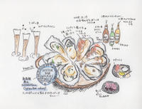 6年ぶりの牡蠣 -新宿駅前 Oyster Bar WHARF- - 続・まいにちわたし