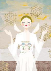 作品「Guardian angel 守護天使」 - まゆみん MAYUMIN Illustration Arts