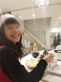 2018 イブの夜と娘の笑顔、BURUNOで(また)野菜巻き - ねことおうち