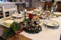 クリスマスの食卓 - 大好きなワインと素敵な食卓